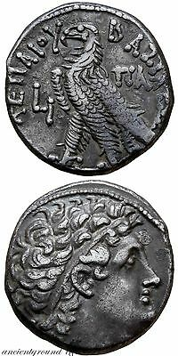 Uncertain , Ptolemaic Kingdom Of Egypt Ptolemy Silver Tetradrachm Coin Alexandri