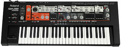 Roland SH-201 Analog-Modeling Synthesizer SH201 Top-Zustand + GEWÄHR