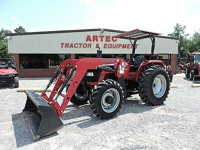2013 Mahindra 6530 Tractor With Front Loader - John Deere - Good Condition!!