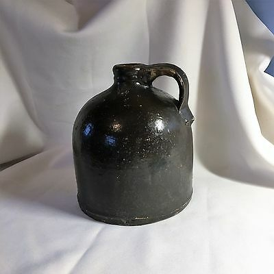 Vintage Stoneware Beehive Crock Brown Whiskey Moonshine Salt Glaze Jug