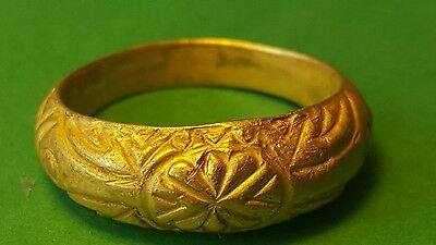 Very Nice Rare  Pure Gold Ring