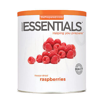 EMERGENCY ESSENTIALS - Freeze Dried Raspberries can