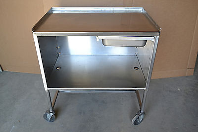 3'x2' Stainless Steel Food Prep Cart