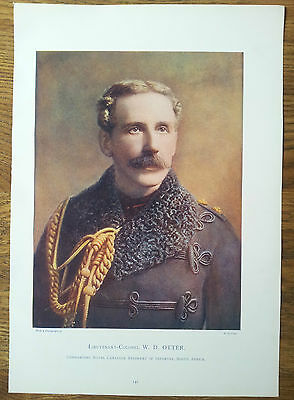 Print Lieutenant Colonel Wd Otter Commanding Royal Canadian Infantry Boer War