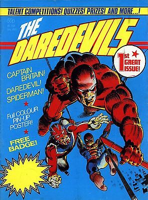 The Daredevils & Mighty World Of Marvel Monthly Digital Comic Collection On Dvd
