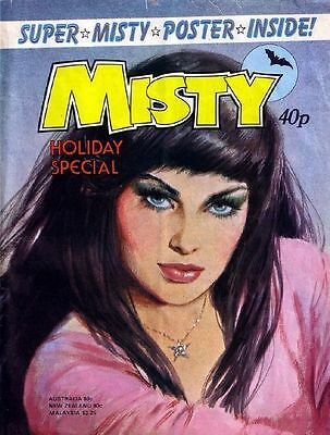 Misty Digital Comics Collection On Dvd Full Set + Summer Specials And Annuals
