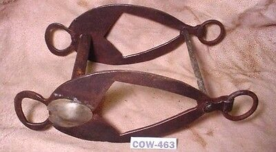 Antique Very UNUSUAL Hand Made WIDE Cowboy Riding Bit Add SIlver! MAKE OFFER