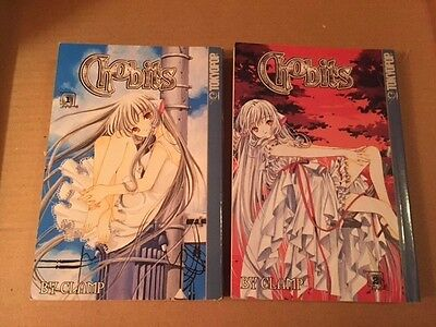 Chobits by Clamp Volumes 1 & 2 First Printing 2002