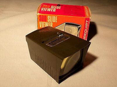 Airequipt 300 Slide Viewer Portable 2x2 Projector With Box - Tested, Works!