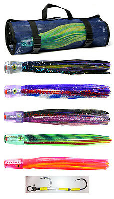 Pakula Inshore Lure Pack. 5 Pakula Lures and Lure Bag. Deadly Inshore Lures