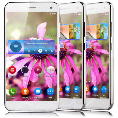 """5"""" Cheap Unlocked 4Core Dual SIM Android 5.1 Cell Phone 3G T-Mobile Smartphone"""