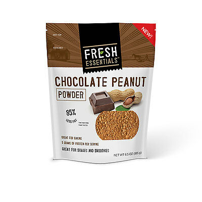 FRESH ESSENTIALS - Chocolate Peanut Powder - 6 Pack