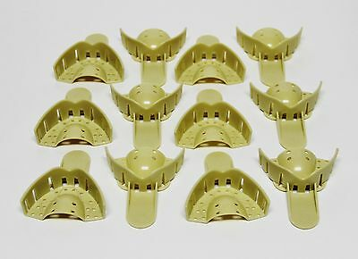 Dental Grillz Upper Anterior Teeth Plastic Mold Impression Trays UA #9 12/bag