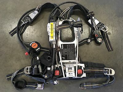 Scott 4.5 AP50 SCBA CBRN Reg HUD RIT/UAC EBSS Firefighter Air Pack 2002 Edition