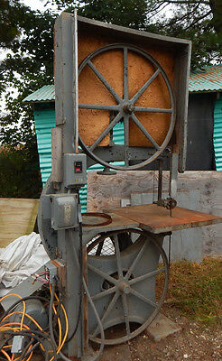 """VINTAGE EARLY 1900's CRESCENT 36"""" BAND SAW"""