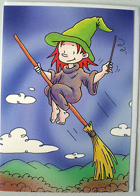 """gift card  """" witch """"  by A. Long  & """"CardsOnly"""""""