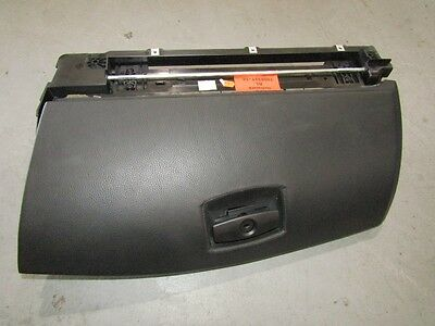 BMW E60 M5 540i 535d Glove Box Assembly in BLACK LEATHER OEM
