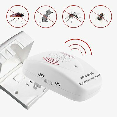 Multifunction Ultrasonic Pest Control Anti Insect Bug Wasp Rat Pest Repeller HY