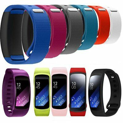 Luxury Soft Silicone Replacement Watch Band Strap For Samsung Gear Fit 2 SM-R360
