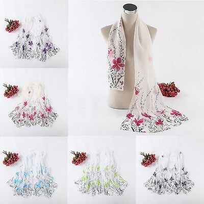 New Women Lady Long soft Wrap scarf Ladies Shawl Chiffon Scarf Scarves Fashion
