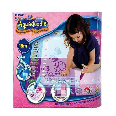 Aquadoodle Classic Pink - 4 Way Colour Art Craft Fun Kids Toy Endless Drawing