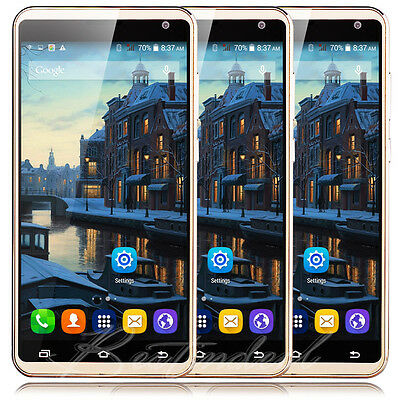 Unlocked 5.5'' Large Screen Android 5.1 Quad Core 2SIM 3G GSM Smart Mobile Phone