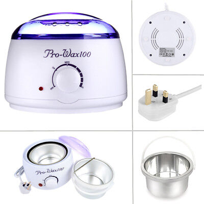 500ml Warmer Handle Pot Wax Waxing Heater Hair Removal Depilatory Salon Paraffin