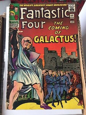 Fantastic Four 48 - 1st Silver Surfer & Galactus - Key Issue - Infinity War