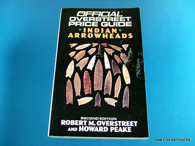 Overstreet Indian Arrowheads Price Guide #2 ''Excellent Overall Condition''