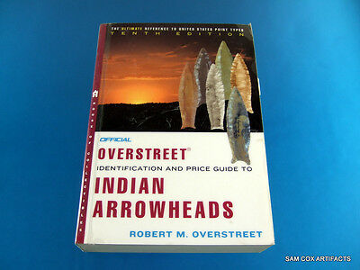 Overstreet Indian Arrowheads Price Guide #10 ''Very Good Overall Condition''