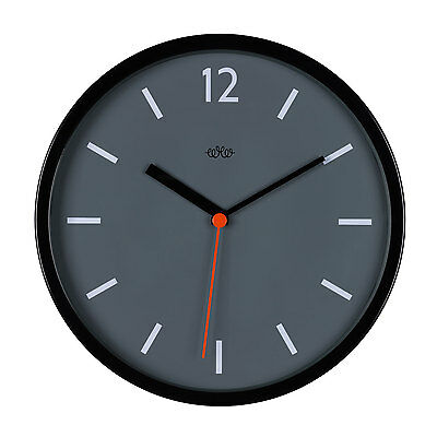 "Concrete Grey 12"" Wall Clock by Wild & Wolf"