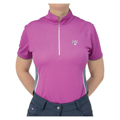 HySPORT Dynamic Ladies Sports Shirt Sports Zip Breathable  XS-XL