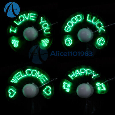 LED Fan Mini USB Powered Cooling Flashing Real Time Display Function