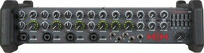 HH Queensberry QBH850 250w x 2 (RMS) PA Mixer Head - NEW