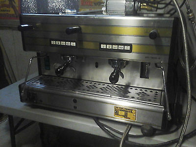 La San Marco 2-Group Espresso Machine with new water softener
