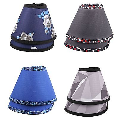 QHP Luxo Overreach Neoprene Matching Patterned Horse Pony Riding Bell Boots