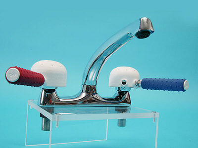 Derby Easy Turn Tap Turners - Coloured Plastic Disability Aid Screw on Handles
