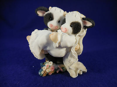 """Mary's Moo Moo's bride and groom I'll Never Love An-udder 3 1/2"""""""