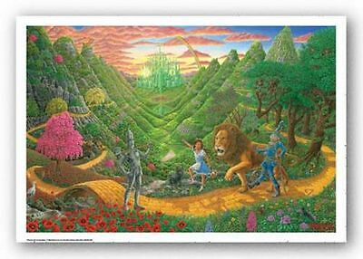 CLASSIC MOVIE POSTER Wizard of Oz Tom Masse