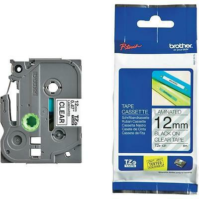 4 PACK!!! Label Tape Cassette For Brother P-Touch Printer 12mm TZe 131
