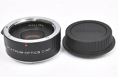 Platinum Optics C/AF 2X Tele Converter for Canon   Made in Japan