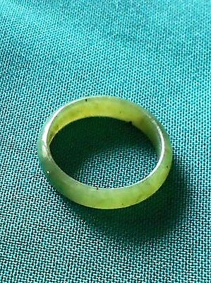 Nephrite Jade Band...size 9 1/4...mint Condition!!