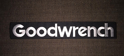 GM Goodwrench Dale Earnhardt NASCAR Indy Car CART Racing Gear Large Patch Crest