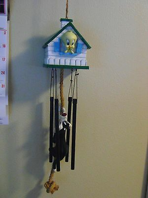 Looney Tunes Sylvester and Tweety Wind Chimes