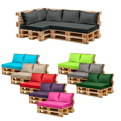 Pallet Garden Furniture Cushions Sets Water Resistant Covers Seat Wooden Sofa