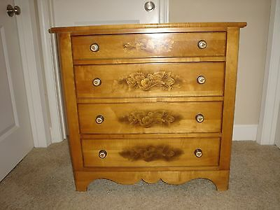 L. Hitchcock Hitchcocks~Ville Conn. Warranted Fabulous 4 Drawer Bachelor's Chest