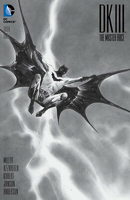 Dark Knight Iii Master Race #1 Dynamic Forces Jae Lee Exclusive B&w Cover Dc
