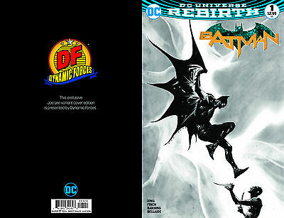 Batman #1 Dynamic Forces Jae Lee Exclusive Black And White Variant Cover Dc 2016