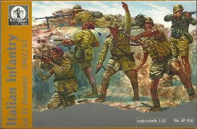 Waterloo 1815 - 016 - Italian Infantry at EL Alamein 1942 1943 - 1:32