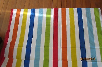 Ikea Baby Crib  Duvet Cover Primary Colors Striped Vitaminer EX. Co